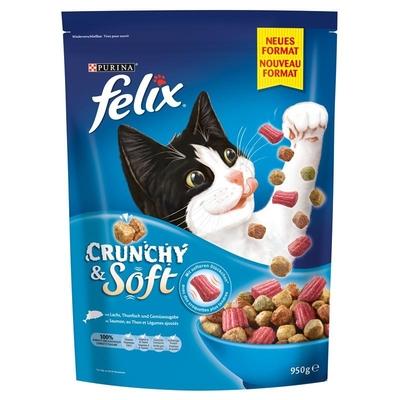 Felix Crunchy & Soft Katzenfutter