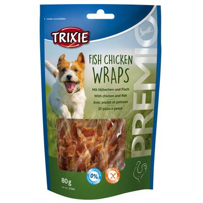 Fish Chicken Wraps für Hunde