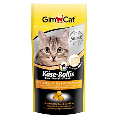 GimCat Käse-Rollis Multi-Vitamin für Katzen