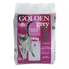 Golden Grey Master mit Babypuderduft Katzenstreu
