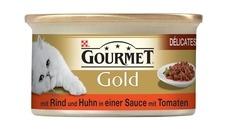 GOURMET Gold Délicatesse en Sauce Katzenfutter