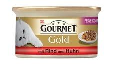 GOURMET Gold Feine Komposition Katzenfutter