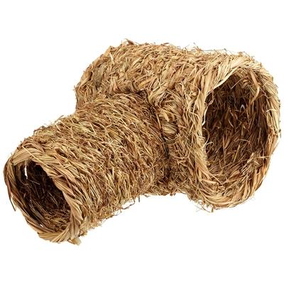 Grasröhre 2-teilig für Kleintiere