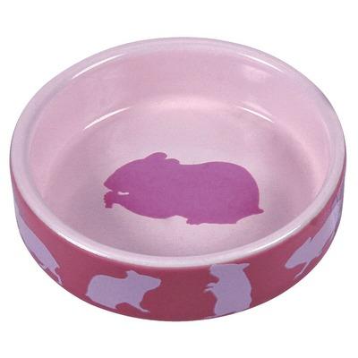 Hamsternapf aus Keramik mit Motiv