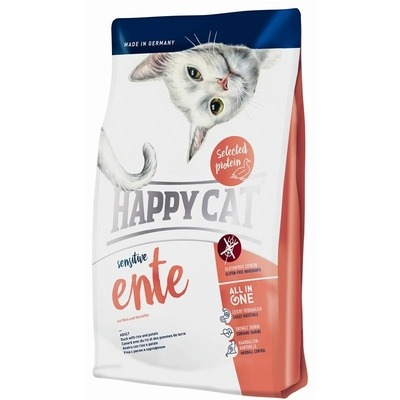 Happy Cat Sensitive Ente Katzenfutter