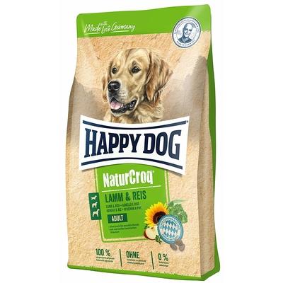 Happy Dog Naturcroq Lamm Reis Hundefutter
