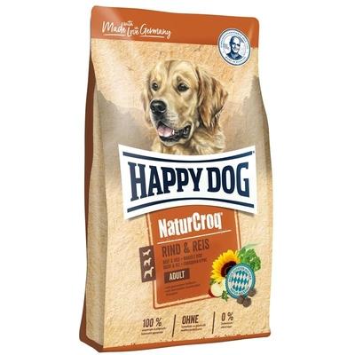 Happy Dog Naturcroq Rind & Reis Hundefutter