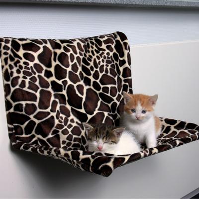 Heizungsliege XL für Katzen aus Plüsch