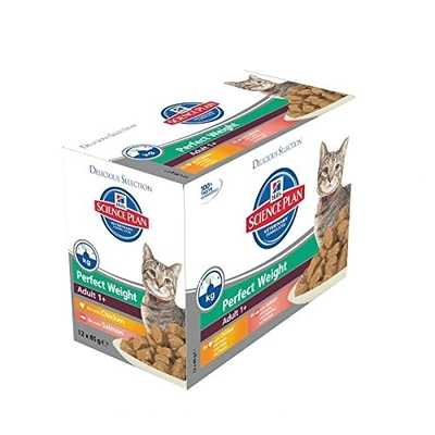 Hills Feline Adult Perfect Weight Multipack Katzenfutter