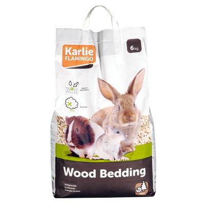 Holz Granulat für Kleintiere