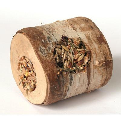 Hugro Nager Knusperholzrolle, Birke gefüllt mit Leckerei