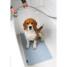 Hunde Badematte für Badewanne