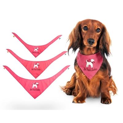 Hunde Halstuch Hot Pink Ladys
