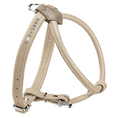 Hunter Hundegeschirr Elchleder Round & Soft Petit Luxus