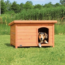 Hundehütte Natura mit Flachdach von Trixie