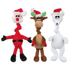 Hundespielzeug mit Weihnachtsmelodie aus Plüsch