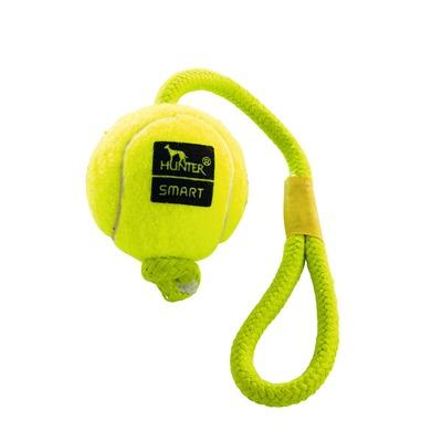 Hundespielzeug Tennisball Throw mit Kordel