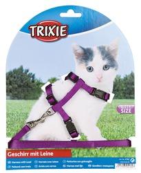 Kätzchen-Garnitur Katzenleine mit Katzengeschirr
