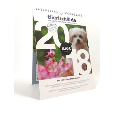 Kalenderstars 2018 - der tiierische Jahreskalender