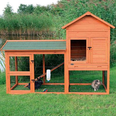 Kaninchenstall Natura mit Auslauf