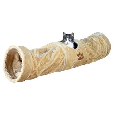 Katzen Spieltunnel Plüsch, extra lang