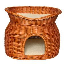 Katzen Korbhöhle mit Liegedach