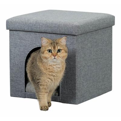 trixie katzen kuschelh hle ella f r regal 44087 von trixie g nstig bestellen. Black Bedroom Furniture Sets. Home Design Ideas