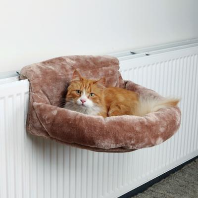 Katzen Liegemulde für Heizkörper Plüsch