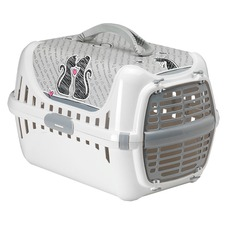 Katzen Transportbox Trendy Cats in Love