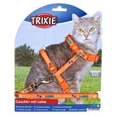 Katzengeschirr mit Leine aus Nylon