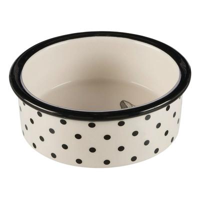 Katzennapf Keramik Zentangle