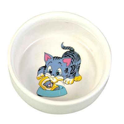 Katzennapf Kitten mit Motiv