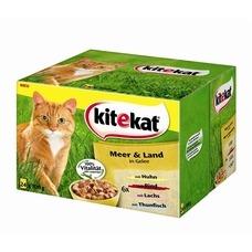 Kitekat Katzenfutter Multipack Meer & Land Gelee