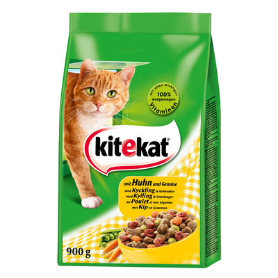 Kitekat - Trockenfutter für ausgewachsene Katzen