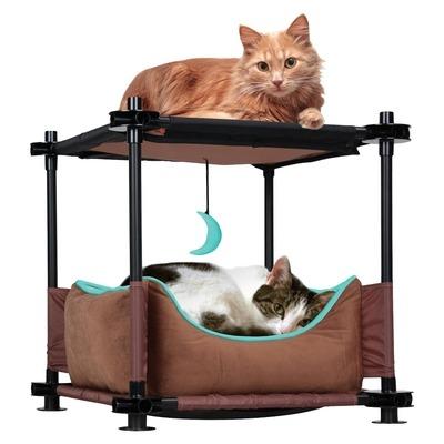 Kitty City Cozy Bed Sleeper