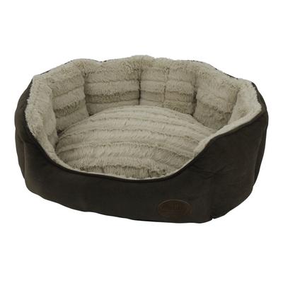 Komfort Haustier Bett oval KARA