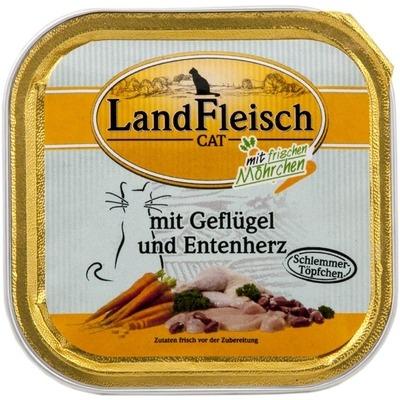LandFleisch Cat Schale Schlemmertopf Katzenfutter