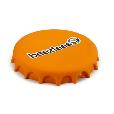 Latex Hundespielzeug Hundefrisbee Kronkorken