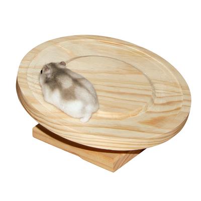 Laufteller Holz für Hamster