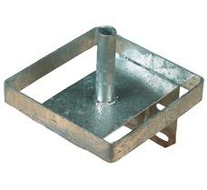 Lecksteinhalter aus Metall