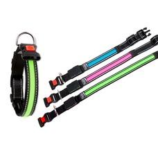 LED Hundehalsband mit USB Ladekabel