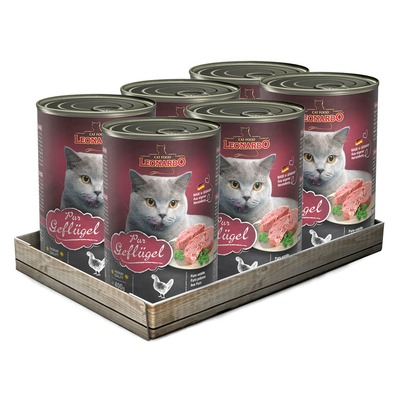 Leonardo All Meat Katzenfutter in der Dose