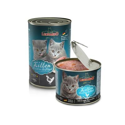 Leonardo Kitten Nassfutter für Katzen