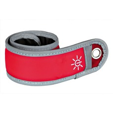 Leuchtendes Schnappband für Hundeführer