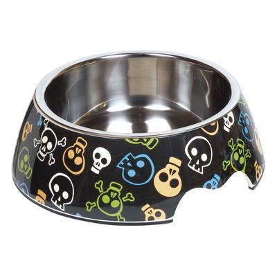Melamin Hundenapf Skull