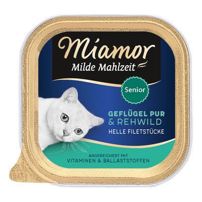 Miamor Milde Mahlzeit Senior Katzenfutter