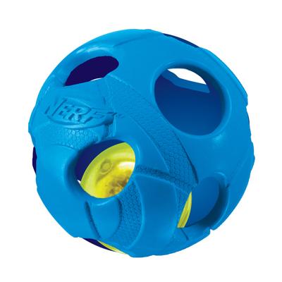 NERF Dog Illuma-Action-LED Bash Ball
