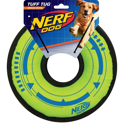 NERF Dog Plush - Tuff Ring