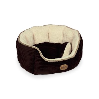 Nobby Haustier Bett oval LENGA Cord Optik