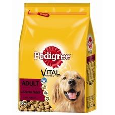 Pedigree Adult 5 Sorten Fleisch Trockenfutter für Hunde